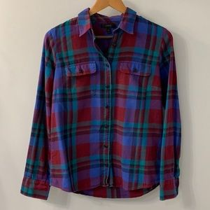 J. Crew Classic Plaid Button Down 6